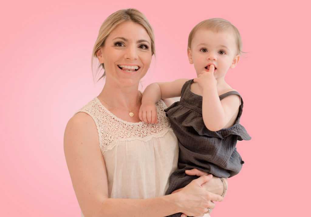 Junge hippe, fitte und attraktive junge Mütter mit Baby!