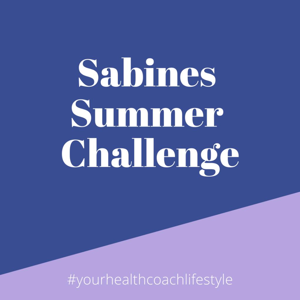 sabines summer challenge