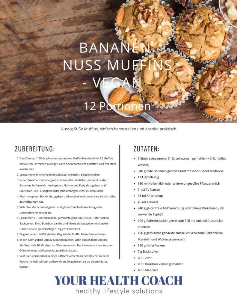 Bananen-Nuss-Muffins